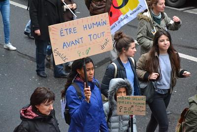 8 mars 2017, manifestation parisienne. Crédit image : Jeanne Menjoulet, CC BY-ND 2.0