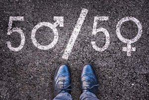 Politiques des quotas d'égalité entre sexes . Crédits : Delpixel, Shutterstock