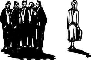 Inégalité des sexes parmi les cadres en entreprise. Crédits : Shutterstock