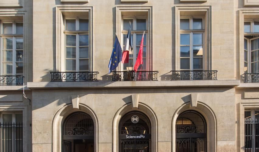 Entrance of the 27 rue Saint-Guillaume