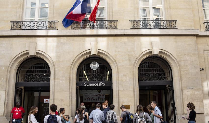 Facade of campus in Paris © Caroline Maufroid / Sciences Po