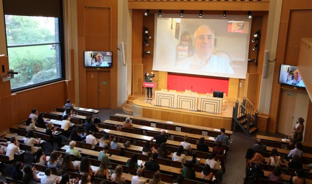 """""""Building Sustainable Development for the 21st Century"""" : an inspiring lecture by Nicholas Stern"""