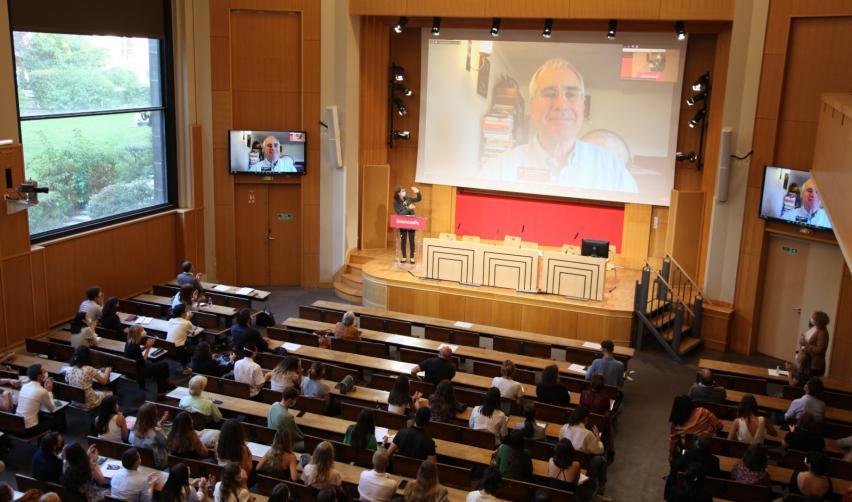 Sir Nicholas Stern à la conférence inaugurale de l'EMI
