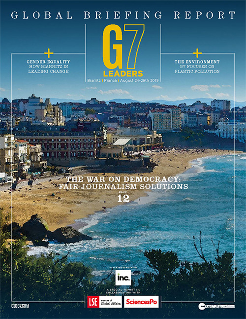 G7 Leaders Magazine cover