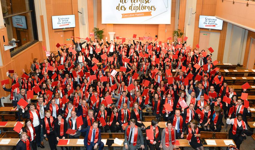 photo de groupe des diplômés 2015