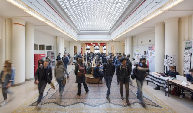 Hall du 27, rue Saint-Guillaume - Sciences Po