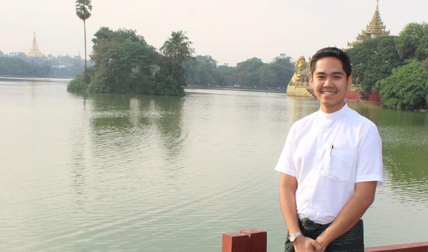 Sciences Po alumnus Alex Aung Khant