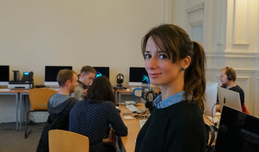 Alice Antheaume, directrice exécutive de l'École de journalisme de Sciences Po