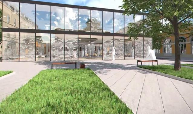 Le futur campus de Sciences Po Hôtel de l'Artillerie