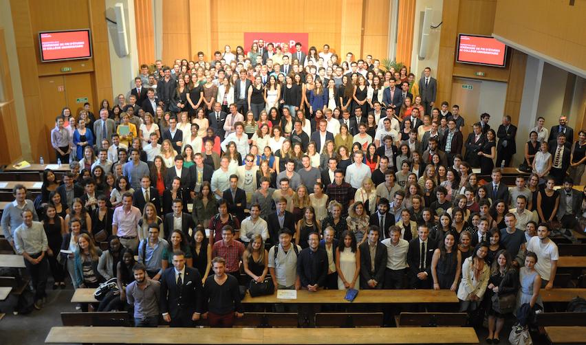 Les diplômés 2015 du Collège universitaire de Sciences Po