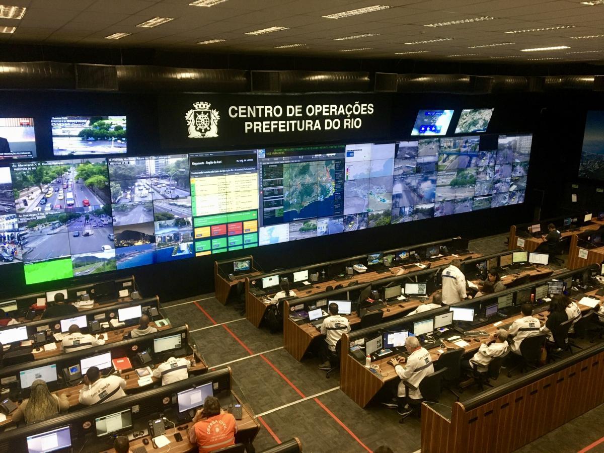 Centro de Operações (Operation Center) in Rio de Janeiro