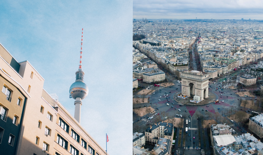 Collaboration from Paris to Berlin
