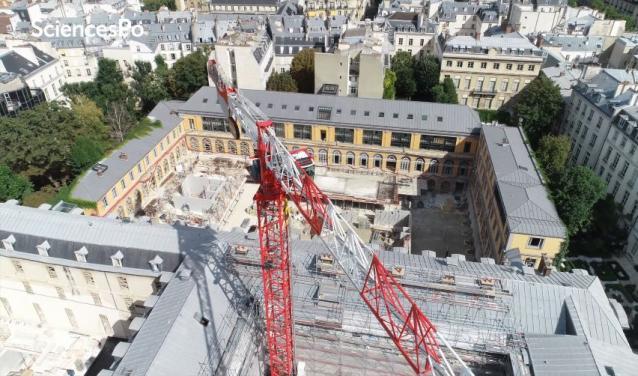 Saint-Thomas : le chantier de notre futur campus vu du ciel