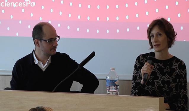 Philippe Bezès et Elissa Mailänder