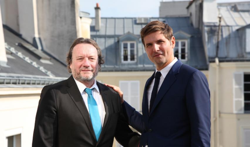 Helmut Anheier and Yann Algan, October 2016, Paris