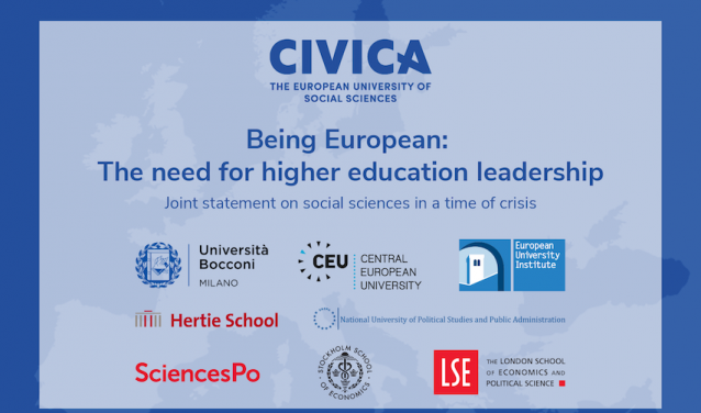 Being European: The Need for Higher Education Leadership