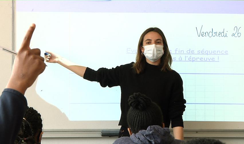 Judith Lienhard (promo 2018) enseigne le français à Bagneux (92)