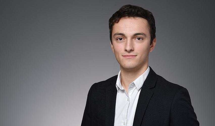 Louis Gaucher, étudiant à l'École urbaine