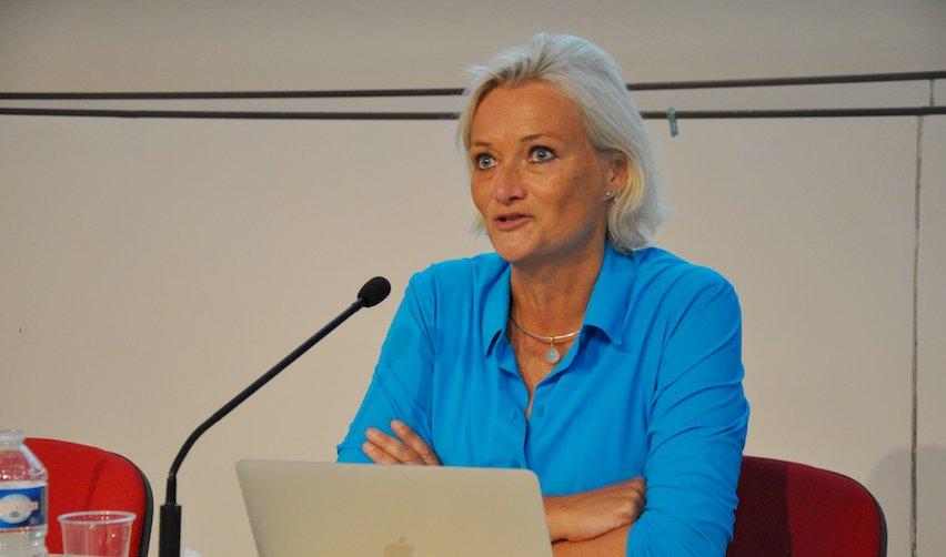 La journaliste Marion Van Renterghem le 30 août 2019