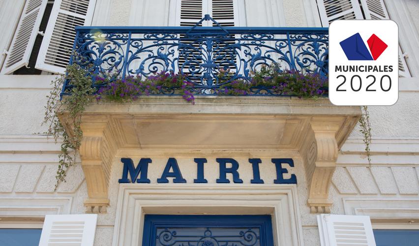 Le fronton d'une mairie en France ©sylv1rob1/shutterstock.com