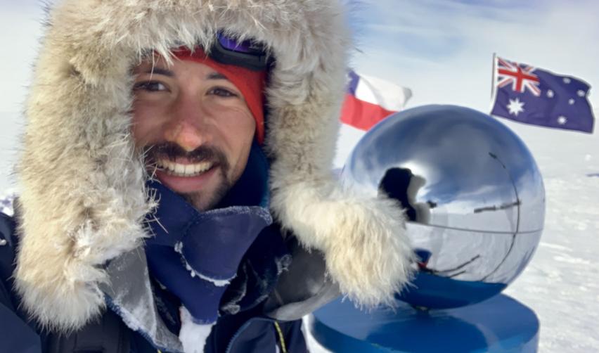 De retour du pôle Sud