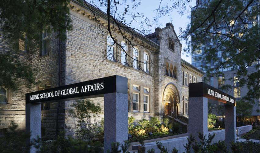 The Munk School of Global Affairs at the University of Toronto