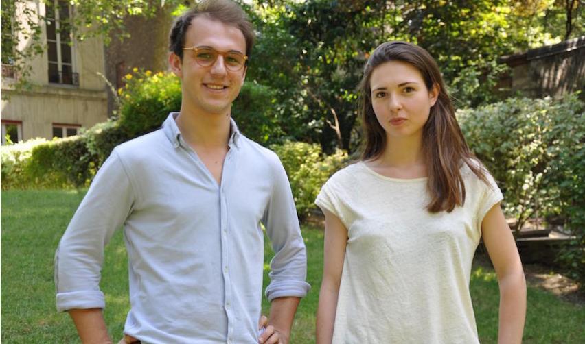 Hugo Ferrer et Sophie Briante Guillemont