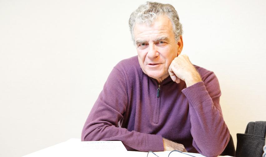 Olivier Duhamel le 5 décembre 2009 lors de la Journée Dédicaces à Sciences Po