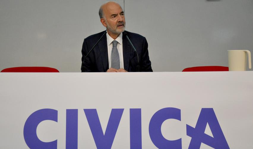 Pierre Moscovici opens CIVICA's first multicampus course