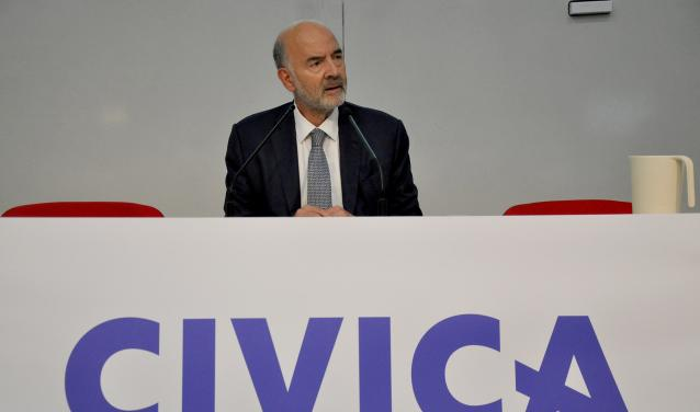 Former European Commissioner Pierre Moscovici opens CIVICA's first multicampus course