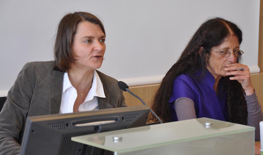 Hélène Périvier et Françoise Milewski en 2011