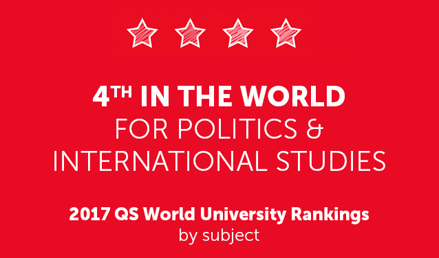 Sciences Po ranks fourth in the world for Politics & International Studies