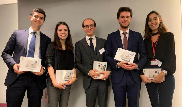 1st Place for Sciences Po students in Société Générale's M&A Corporate Finance Competition