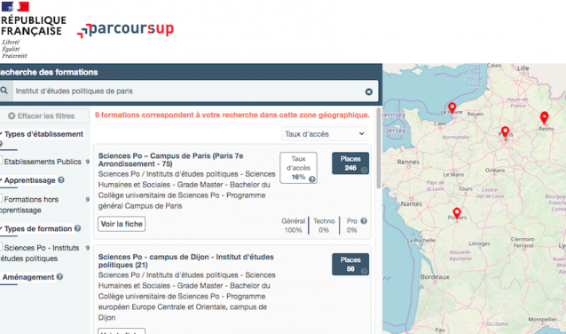 Sciences Po on Parcoursup: follow the guide