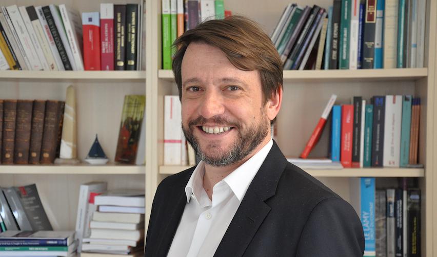Portrait of Sébastien Pimont @Thomas Arrivé/Sciences Po