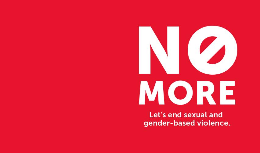 No More campaign - Let's end SGBV