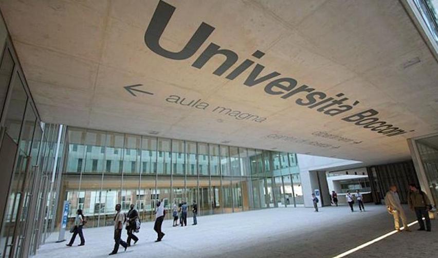L'Université Bocconi à Milan (Italie)