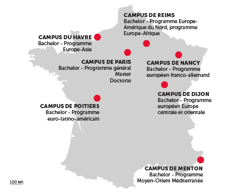 7 campus multiculturels en France