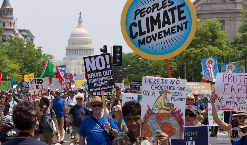 Climate March, Washington DC, April 2017
