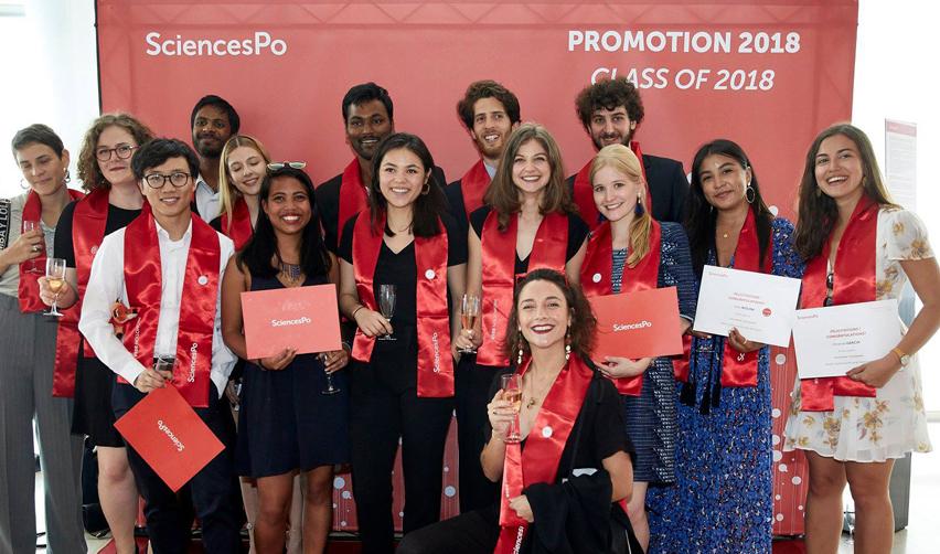 Diplômés de Sciences Po 2018