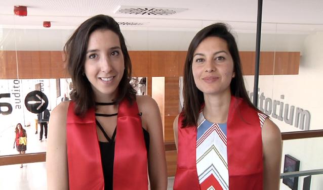 Carolina Fantini et Mariana Segre, diplômées 2016