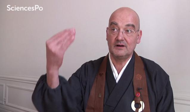 Olivier Wangh-Genh, Président de l'Union bouddhiste de France