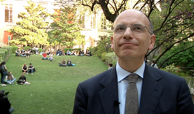 Enrico Letta at Sciences Po