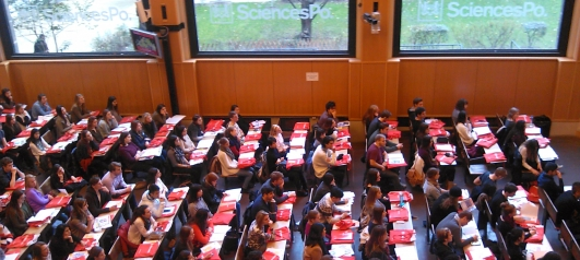 Exchange students at Sciences Po