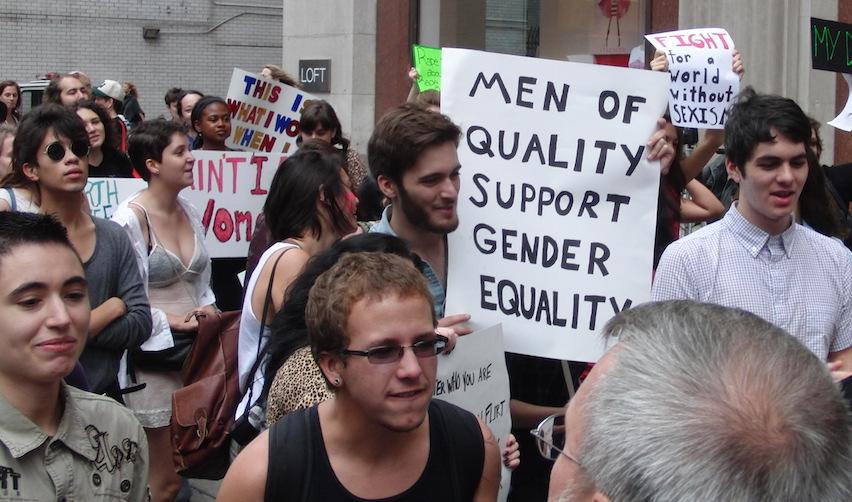 Manifestation féministe en 2011