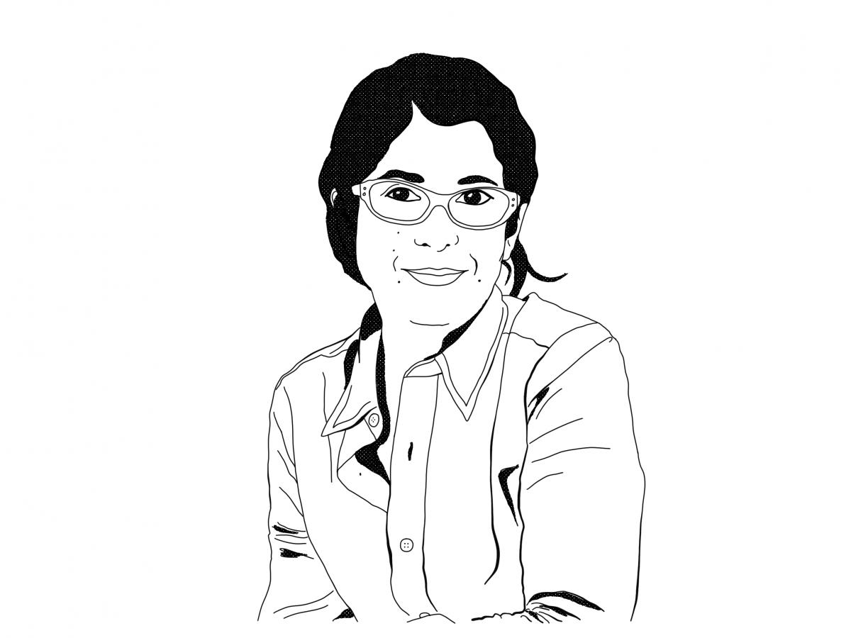 Illustration Fariba Adelkhah_Stéphanie Samper