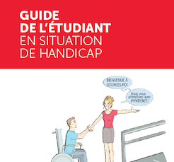 couverture du guide de l'étudiant en situation de handicap
