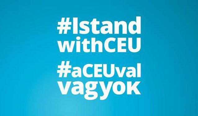 Hertie School and Sciences Po write letter to Hungarian President in #IstandwithCEU action