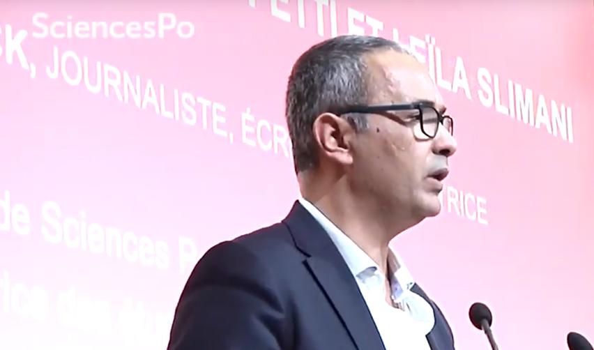 Kamel Daoud à Sciences Po le 31 janvier 2019