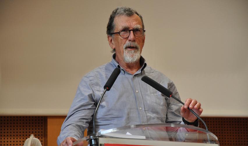 Bruno Latour en leçon inaugurale à Sciences Po le 28 août 2019